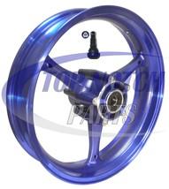 """NEW 17"""" INCH SUZUKI GSXR 1000 GSX-R 1000 FRONT RIM WHEEL HIGH GLOSS BLUE... - $124.95"""