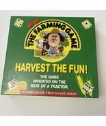 The Farming Game Board Game Harvest The Fun Weekend Farmer Great Conditi... - $44.10