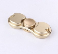 Gold Color Creative Fidget Spinner EDC Hand Toy Metal Focus ADHD FREE SHIP - $7.69