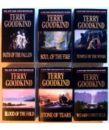 TERRY GOODKIND      Lot of ( 6 )  Sci-Fi / Fantasy Paperbacks - $15.00