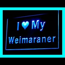 210126B I Love My Weimaraner Blatant Supplement Property Defense LED Lig... - $18.00