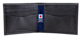 Nautica Men's Genuine Vintage Leather Credit Card ID Billfold Passcase Wallet image 6