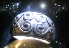 HAUNTED ORNATE RING 7 MASTER DIVINE GREATEST LOVER BLESSINGS SECRET  OOAK MAGICK - $9,147.77