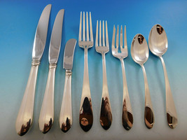 Puritan by Gorham Sterling Silver Flatware Set for 12 Service 96 Pieces Dinner - $5,750.00
