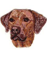 "2""x2 1/2"" Rhodesian Ridgeback Head Portrait Dog Breed Embroidery Patch - $5.50"