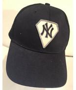 New York Yankees Hat Cap Blue Mesh Snapback - $14.84