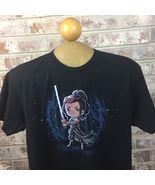 TeeTurtle Star Wars Womens Size Small Rey Short Black Sleeve T-shirt - $9.50