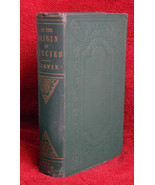 Charles Darwin THE ORIGIN OF SPECIES 1861 - $6,811.00