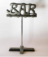 "Unique Metal ""BAR"" Accessory Holder Stand  #1603 - $20.00"