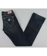 True Religion jeans Becky Big T Boot cut jeans Blue Womens 25 - $27.67