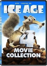 Ice Age 4 Film Collection DVD THE MELTDOWN DAWN OF DINOSAURS CONTINENTAL... - $42.56
