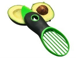 Avocado Slicer Corer Plastic Fruits Pie Cooking Tools Durable Blade Kitc... - €8,68 EUR