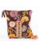 New Cocoa Le Fleur Hipster Purse Crossbody Handbag Flowers - $23.76