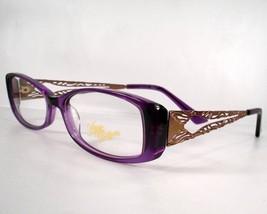 Apple Bottoms 731 Purple Woman Eyeglasses Eyewear new Frames - $59.39