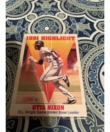 Otis Nixon  1992 Score #429  1991 Highlight - $13.86