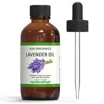 SVA Organics Lavender Essential Oil - Big 4 Ounce (4 Ounce|Lavender) - $22.88