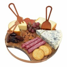 Choosy Chef Magnetic Cheese Board & Utensils (Brushed Copper) - $41.99+