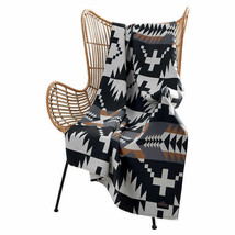 Pendleton Home Collection Black Multicolor Harding Luxe 50x70 Throw Blanket - $44.90