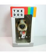 The Dog Artist Collection BEAGLE Christmas Holiday Nodder Bobblehead Dog - $8.99