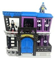Imaginext Batman Gotham City Jail Playset & 2 Figures- Batman Blue & Ban... - $34.31
