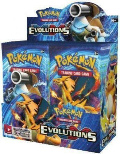 Pokemon TCG Sun & Moon Unbroken Bonds + XY Evolutions Booster Box Bundle