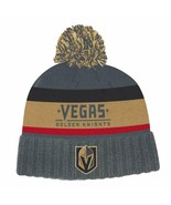 Las Vegas Golden Knights adidas NHL Culture Cuffed Winter Knit Hat with Pom - $24.74
