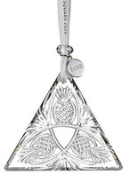 Waterford Crystal 2020 Times Square Goodwill Triangle ornament # 4003549... - $173.25