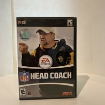 NFL Head Coach PC-CD 2006 Football Video Game EA Sports W/Manual Commissioner  - $21.49