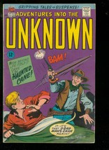 ADVENTURES INTO THE UNKNOWN #168 1966-STEVE DITKO ART   VG - $55.87