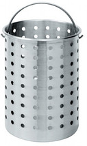 Bayou Classic B300 Perforated Steam, Boil, Fry Accessory Basket. Fits 30... - $42.33