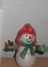 2007 HALLMARK ORNAMENT - Welcome Friends Snowman Christmas Loose Snowmen - $2.49