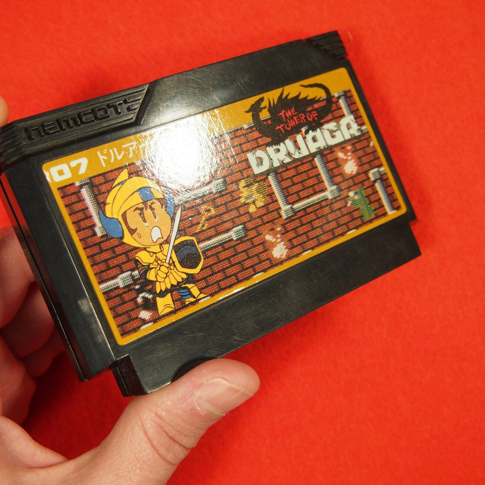 Tower of Druaga (Nintendo Famicom NES FC, 1985) - Japan Import Namco