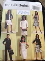 Butterick Pattern 5333 Ladies Day Evening Jacket Top Dress Skirt Pants 6... - $7.79