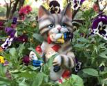 Evil Cat Garden, Dwarf Miniature, Garden supplies, Figurines, Gnome for yard