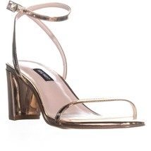 Nine West Provein Ankle Strap Block Heel Sandals, Pink, 5.5 US - $34.55