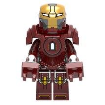 Iron Man Mark 35 MK35 (Red Snapper) Marvel Superhero Lego Minifigures To... - $2.99