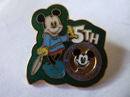 Disney Trading Pins 990 1996 WDW 5th Disneyana Convention Logo - $9.53