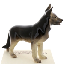 Hagen-Renaker Miniature Ceramic Dog Figurine German Shepherd Standing