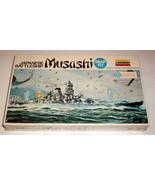 NEW Lindberg 843, Musashi Japanese Battleship Sealed - $17.49