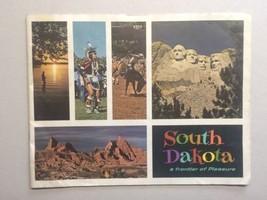 Large 1960s South Dakota Travel Booklet Vintage Travel Indians Mt. Rushmore - $20.00