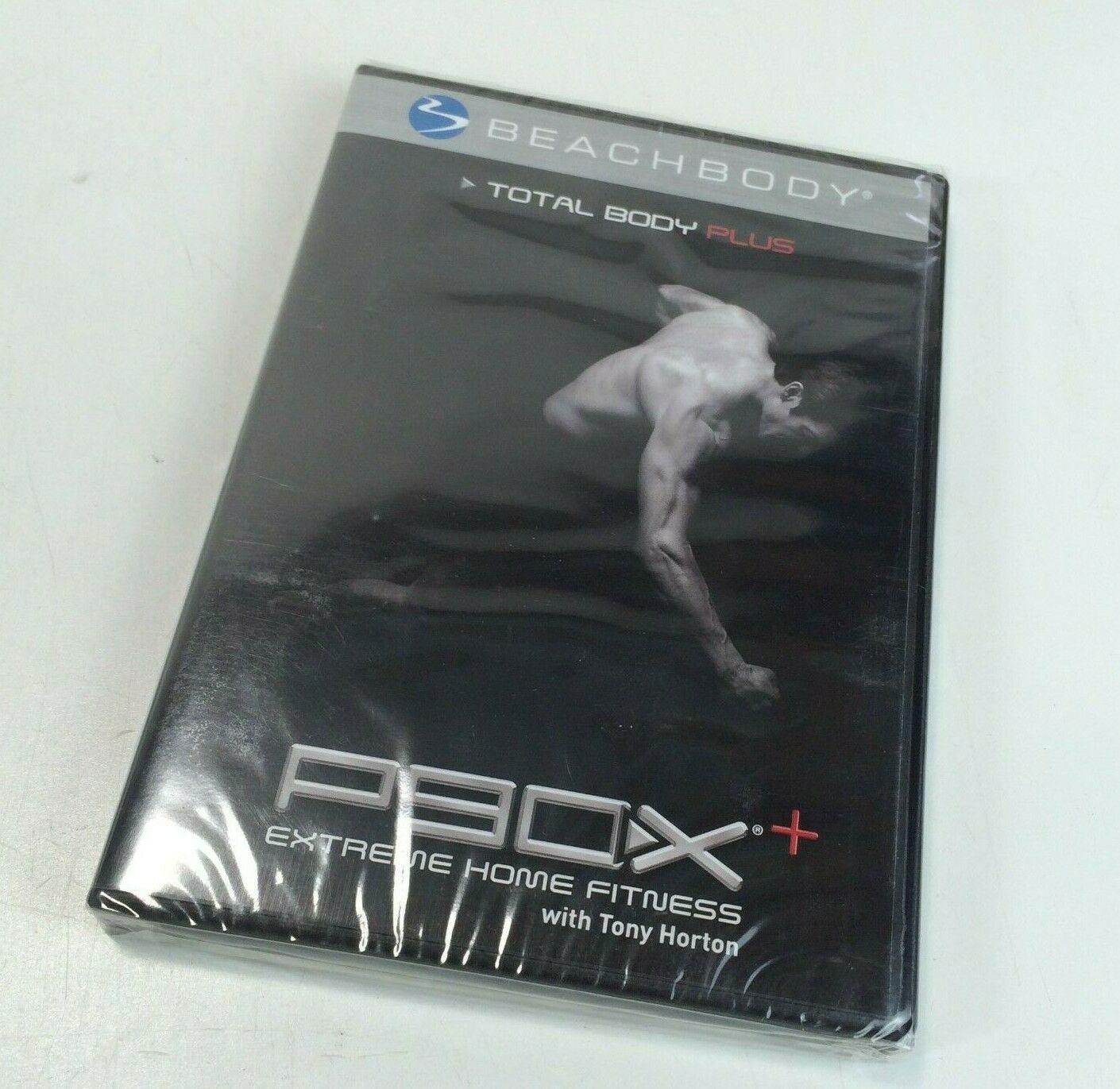 BEACHBODY P90X+ Extreme Home Fitness Total Body Plus with Tony Horton DVD NEW