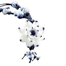Handmade Ceramic Necklace National Wind Jewelry Necklace Send Girlfriend image 2