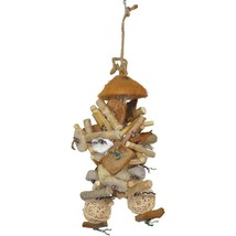 A&e Cage Assorted Java Wood Java Bush Bird Toy 9x16.5 In - £44.27 GBP