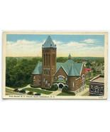 West Market M E Church Greensboro North Carolina 1940 postcard - $6.44