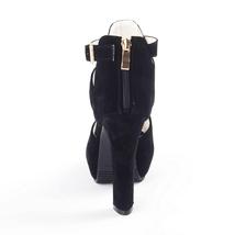 Sandals Toe High Sandals Rumbidzo Fashion Buckle Platform Peep Women Summe Heel 0HqUwXw