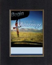 Inspirational Plaques  Begin a new journey. . . 8 x 10 Inches Biblical/Religious - $11.14