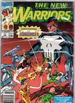 The New Warriors #9 MAR Marvel Comic Book - $3.99