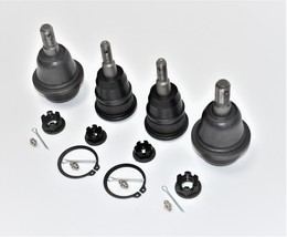 A-Team Performance 4x4 Upper and Lower Ball Joints Set Compatible with Silverado image 4