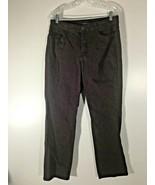 Women's Burgundy Wine Jeans Missy Size 14 Bandolino Caroline - $13.85