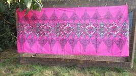 "VINTAGE 112x48"" Cotton Fabric Designed by Marjatta Metsovaara Finnish Au... - $217.80"
